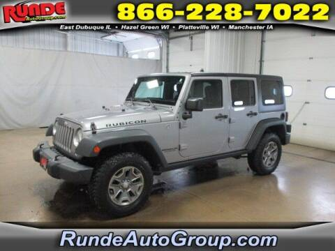 2016 Jeep Wrangler Unlimited for sale at Runde PreDriven in Hazel Green WI