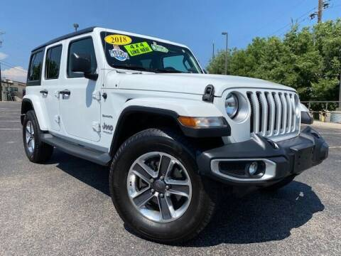 2018 Jeep Wrangler Unlimited for sale at UNITED Automotive in Denver CO