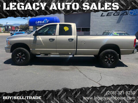 2005 Dodge Ram Pickup 2500 for sale at LEGACY AUTO SALES in Boise ID