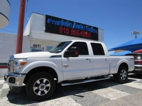 2014 Ford F-250 Super Duty for sale at Franklin Auto Sales in El Paso TX