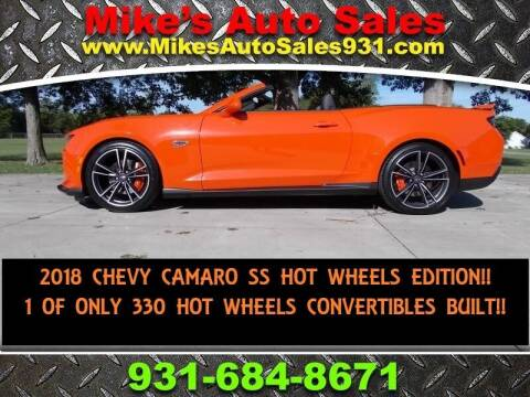 2018 Chevrolet Camaro for sale at Mike's Auto Sales in Shelbyville TN