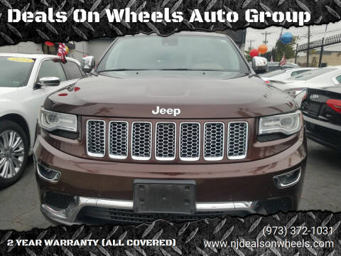 2015 Jeep Grand Cherokee for sale at Deals On Wheels Auto Group in Irvington NJ