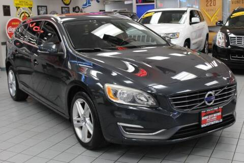 2015 Volvo V60 for sale at Windy City Motors in Chicago IL