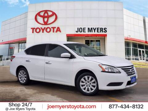 2015 Nissan Sentra for sale at Joe Myers Toyota PreOwned in Houston TX