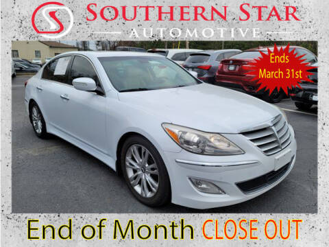 2014 Hyundai Genesis for sale at Southern Star Automotive, Inc. in Duluth GA