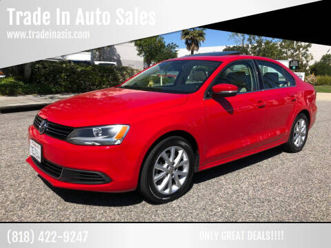 2014 Volkswagen Jetta for sale at Trade In Auto Sales in Van Nuys CA
