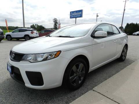 2010 Kia Forte Koup for sale at Leitheiser Car Company in West Bend WI