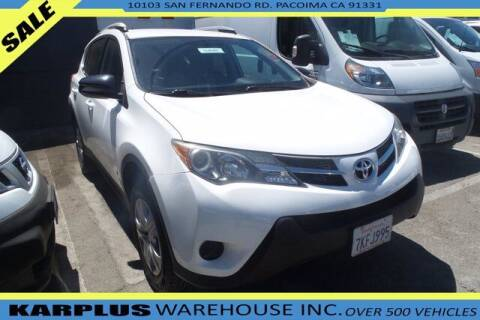 2014 Toyota RAV4 for sale at Karplus Warehouse in Pacoima CA
