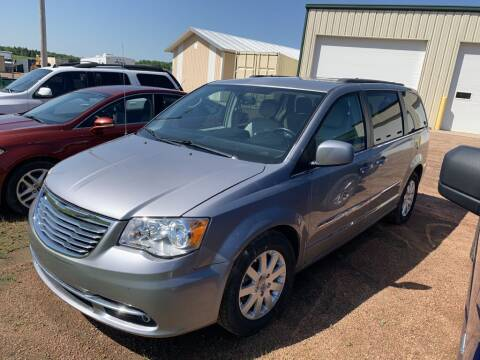 2014 Chrysler Town and Country for sale at Yachs Auto Sales and Service in Ringle WI