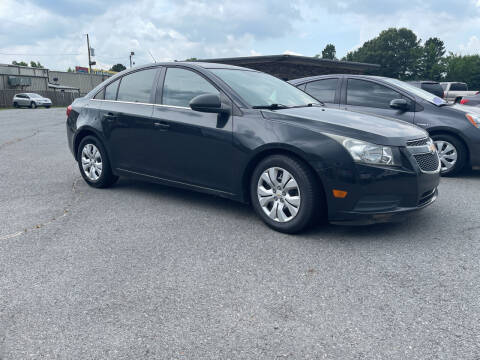 2012 Chevrolet Cruze for sale at Auto Credit Xpress - Sherwood in Sherwood AR