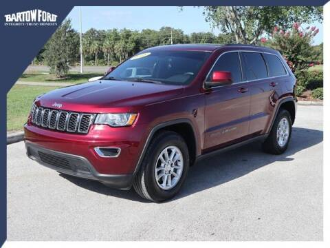 2018 Jeep Grand Cherokee for sale at BARTOW FORD CO. in Bartow FL