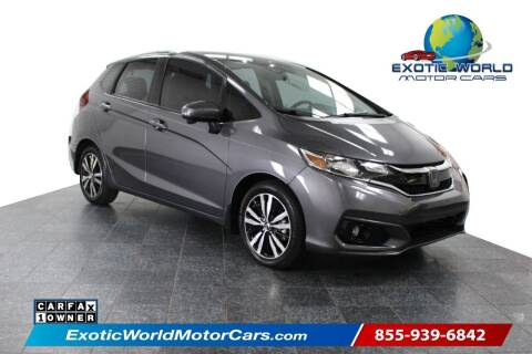 2019 Honda Fit for sale at Exotic World Motor Cars in Addison TX