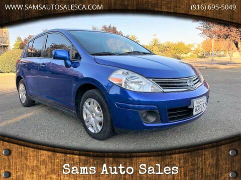 2011 Nissan Versa for sale at Sams Auto Sales in North Highlands CA