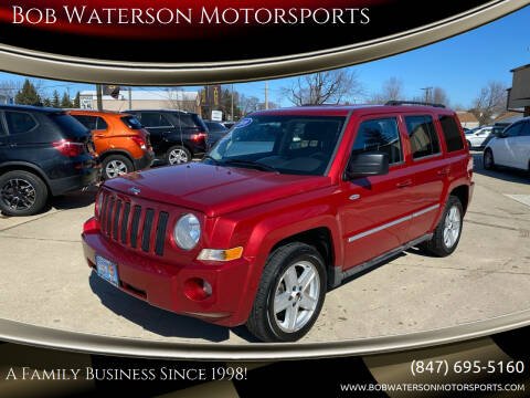 2010 Jeep Patriot for sale at Bob Waterson Motorsports in South Elgin IL