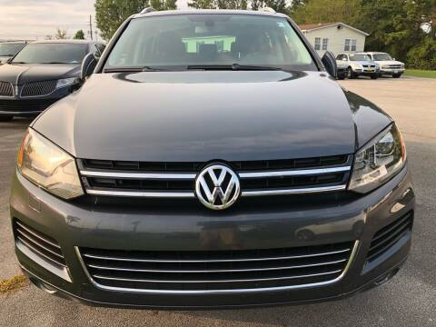 2013 Volkswagen Touareg for sale at East Carolina Auto Exchange in Greenville NC