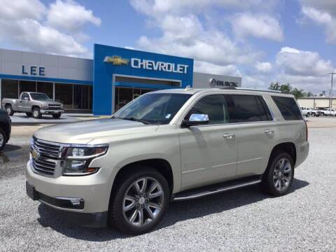 2016 Chevrolet Tahoe for sale at LEE CHEVROLET PONTIAC BUICK in Washington NC