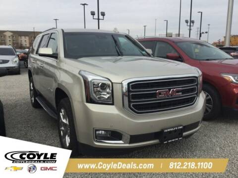 2017 GMC Yukon for sale at COYLE GM - COYLE NISSAN in Clarksville IN