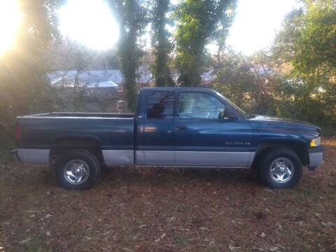 2001 Dodge Ram Chassis 1500 for sale at Easy Auto Sales LLC in Charlotte NC