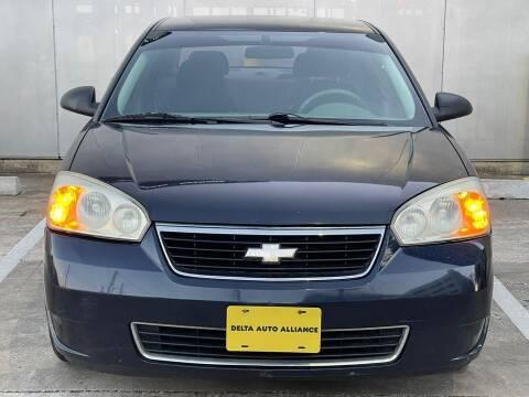 2006 Chevrolet Malibu for sale at Delta Auto Alliance in Houston TX