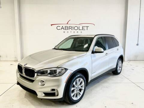 2016 BMW X5 for sale at Cabriolet Motors in Morrisville NC