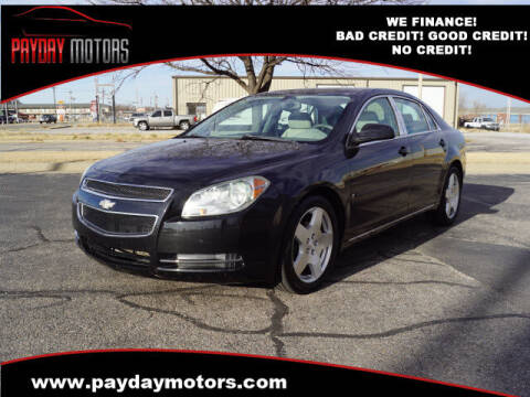 2009 Chevrolet Malibu for sale at Payday Motors in Wichita And Topeka KS