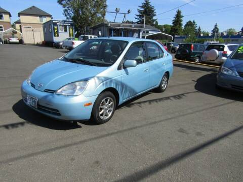 2002 Toyota Prius for sale at ARISTA CAR COMPANY LLC in Portland OR