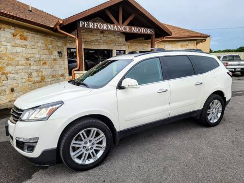 2015 Chevrolet Traverse for sale at Performance Motors Killeen Second Chance in Killeen TX