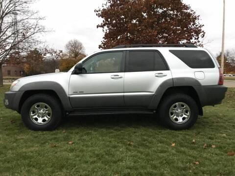 2003 Toyota 4Runner for sale at Motors Inc in Mason MI