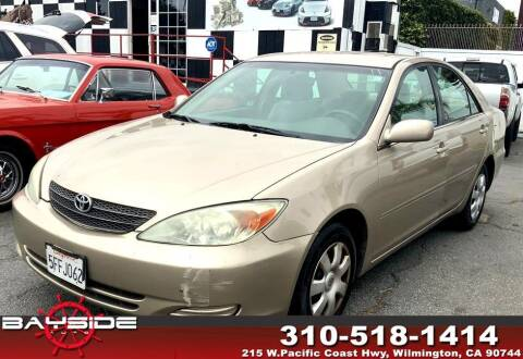 2004 Toyota Camry for sale at BaySide Auto in Wilmington CA
