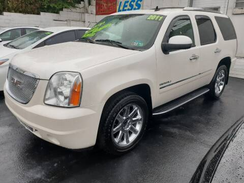 2011 GMC Yukon for sale at High Level Auto Sales INC in Homestead PA