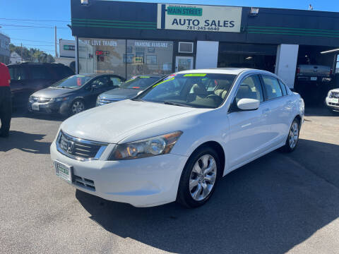 2009 Honda Accord for sale at Wakefield Auto Sales of Main Street Inc. in Wakefield MA