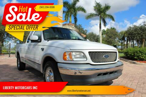2000 Ford F-150 for sale at LIBERTY MOTORCARS INC in Royal Palm Beach FL