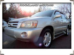 2004 Toyota Highlander for sale at Rockland Automall - Rockland Motors in West Nyack NY