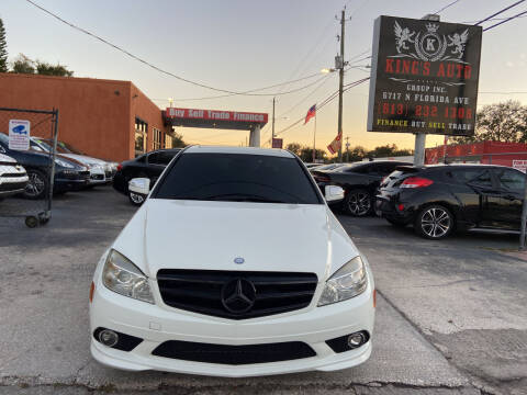 2009 Mercedes-Benz C-Class for sale at Kings Auto Group in Tampa FL