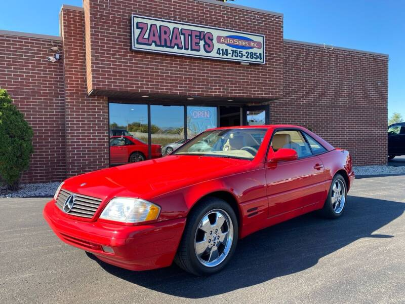 1999 Mercedes-Benz SL-Class for sale at Zarate's Auto Sales in Caledonia WI