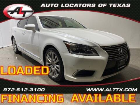 2014 Lexus LS 460 for sale at AUTO LOCATORS OF TEXAS in Plano TX
