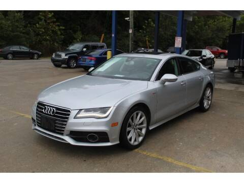 2012 Audi A7 for sale at Inline Auto Sales in Fuquay Varina NC