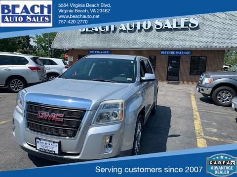 2011 GMC Terrain for sale at Beach Auto Sales in Virginia Beach VA