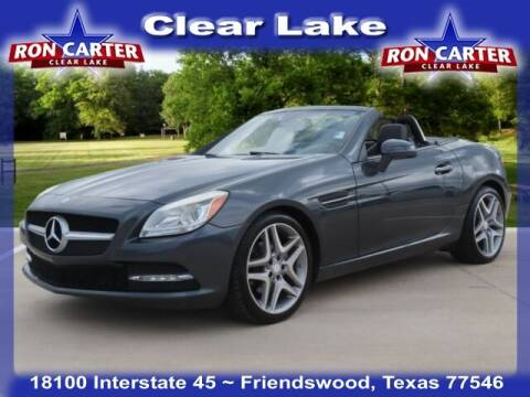 2014 Mercedes-Benz SLK for sale at Ron Carter  Clear Lake Used Cars in Houston TX