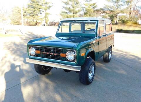 1977 Ford Bronco for sale at WEST PORT AUTO CENTER INC in Fenton MO