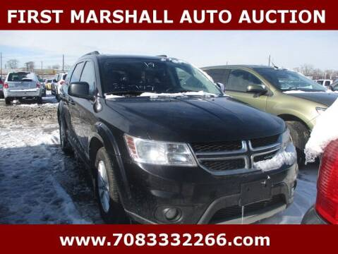 2014 Dodge Journey for sale at First Marshall Auto Auction in Harvey IL