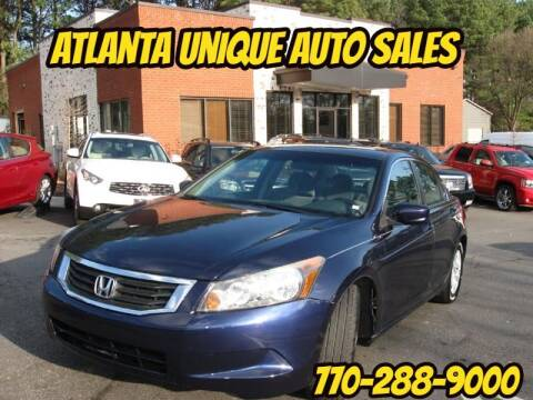 2010 Honda Accord for sale at Atlanta Unique Auto Sales in Norcross GA