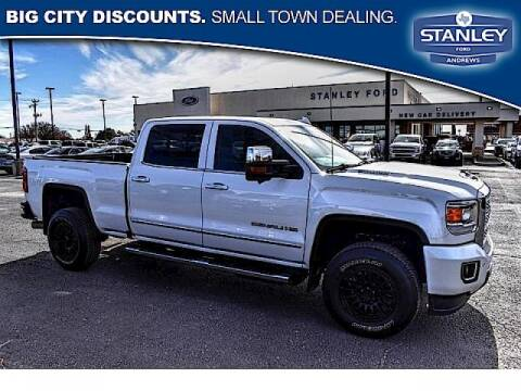 2018 GMC Sierra 2500HD for sale at STANLEY FORD ANDREWS in Andrews TX