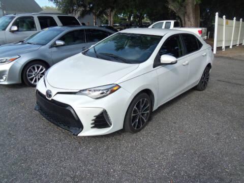 2017 Toyota Corolla for sale at ORANGE PARK AUTO in Jacksonville FL