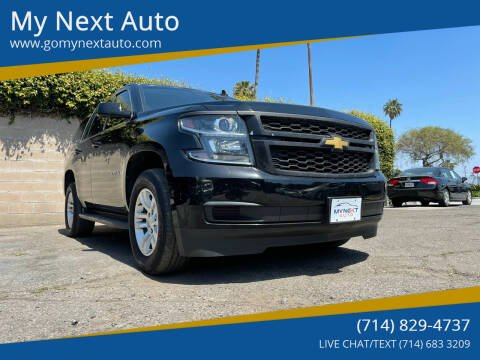 2015 Chevrolet Tahoe for sale at My Next Auto in Anaheim CA