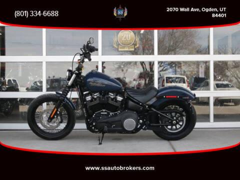 2019 Harley-Davidson FXBB Street Bob for sale at S S Auto Brokers in Ogden UT