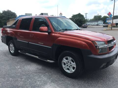 2003 Chevrolet Avalanche for sale at Cherry Motors in Greenville SC