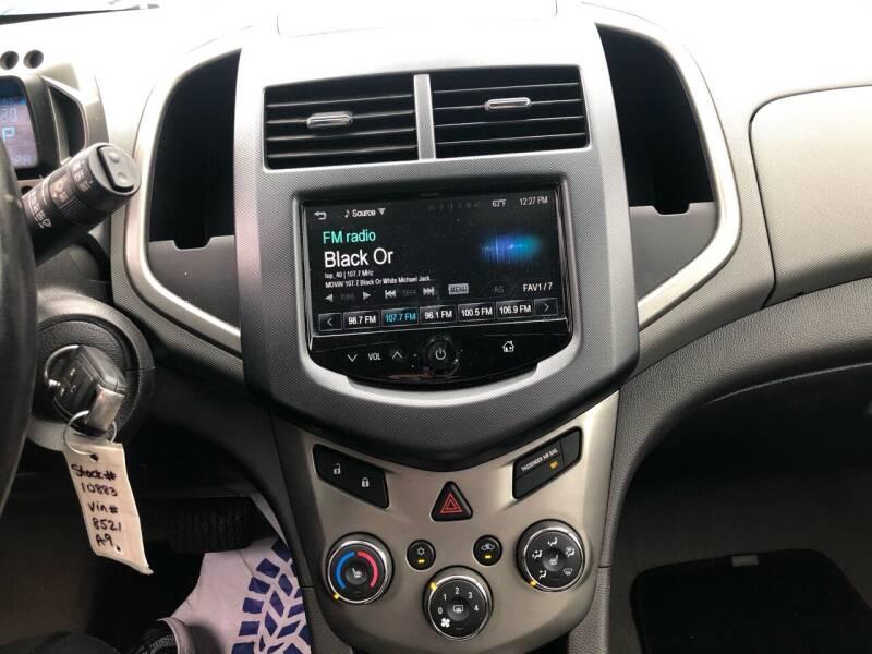 2013 Chevrolet Sonic LTZ Auto 4dr Hatchback - Virginia Beach VA