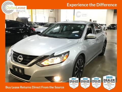 2018 Nissan Altima for sale at Dallas Auto Finance in Dallas TX