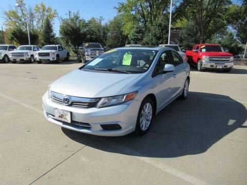 2012 Honda Civic for sale at Aztec Motors in Des Moines IA